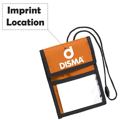 Neck ID Wallet Badge Holder Imprint Image