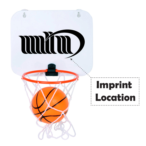 Basketball Door Hoop Set Imprint Image