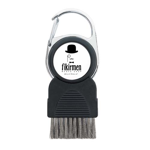 Golf Club Brush with Removable Ball Marker Image 1