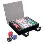 Poker Set with Soft Case
