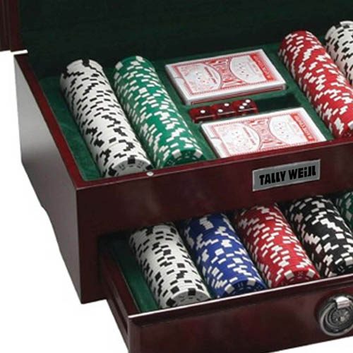 Executive 500 Piece Poker Set Image 3
