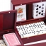 Wooden Domino Set with Two Decks Of Playing Card Image 2