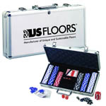 Deluxe Poker Set with Aluminum Carrying Case
