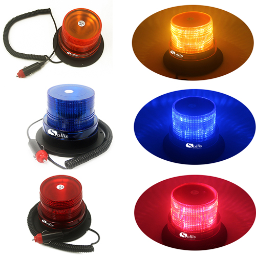 Magnetic Base Warning LED Beacon Light