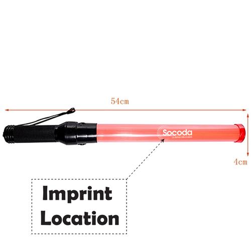 Road Traffic Handheld Flashing Control Stick Imprint Image