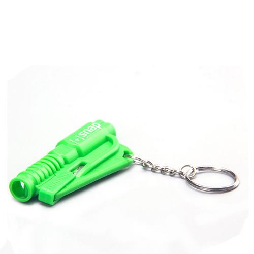 Emergency 3 In 1 Mini Car Window Breaker Keychain Image 4