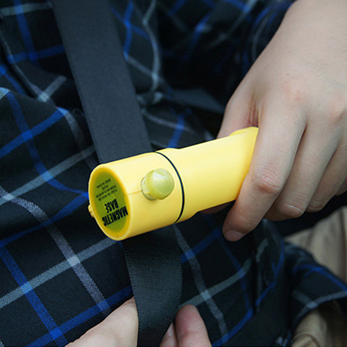 Seat Belt Cutter LED Light Hammer Image 2