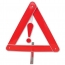 Automobile Foldable Reflective Triangle Warning Sign Image 4