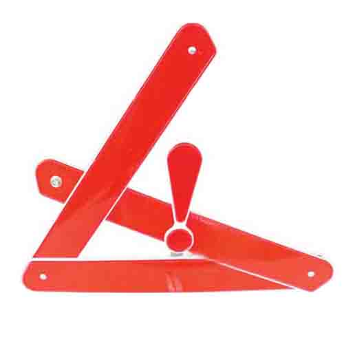 Automobile Foldable Reflective Triangle Warning Sign Image 5