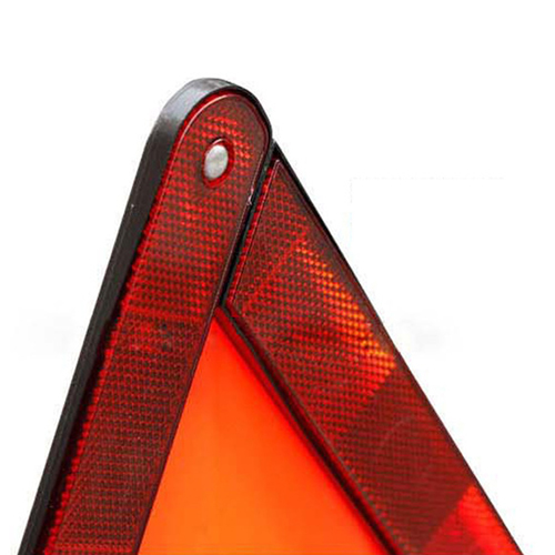 Triangle Folding Auto Emergency Reflective Sign Image 4