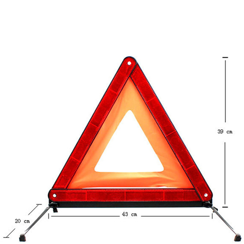 Triangle Folding Auto Emergency Reflective Sign Image 5