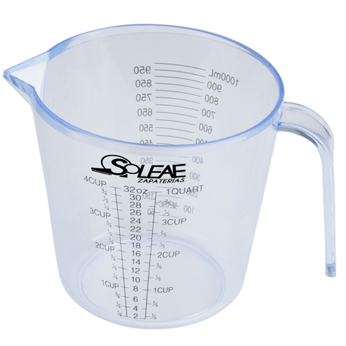 Transparent Measuring Cup With Scale