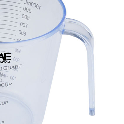 Transparent Measuring Cup With Scale Image 2
