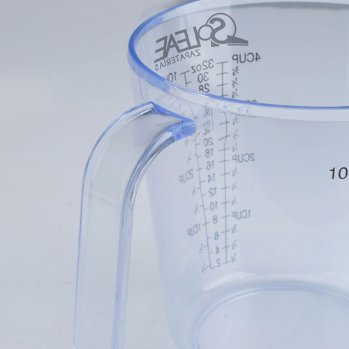 Transparent Measuring Cup With Scale Image 3
