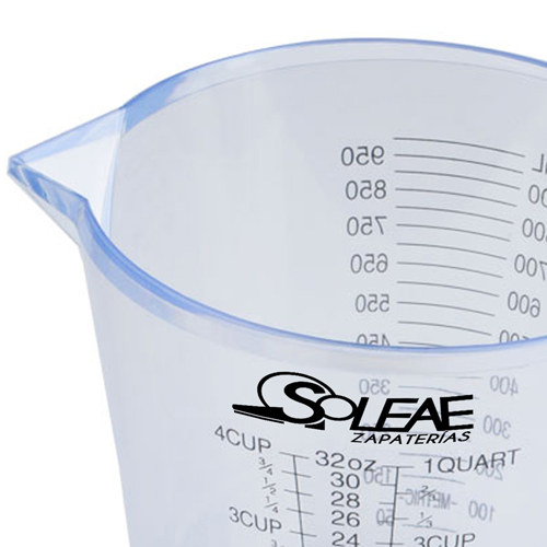 Transparent Measuring Cup With Scale Image 4