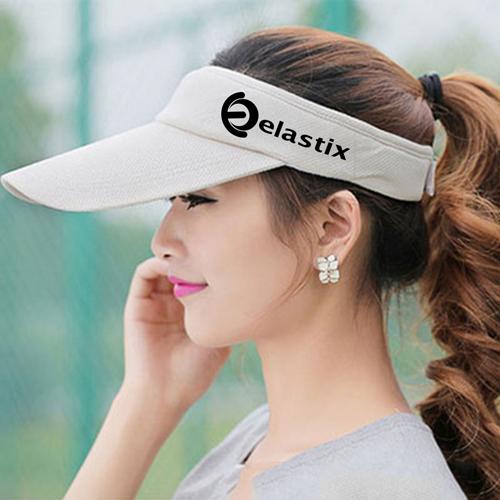 Unisex Cotton Sports Visor Cap