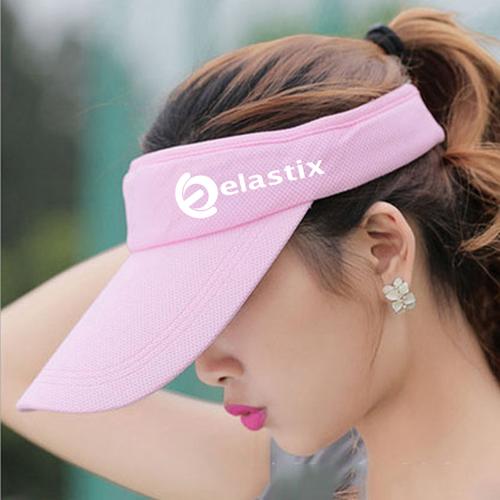 Unisex Cotton Sports Visor Cap Image 1