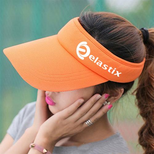 Unisex Cotton Sports Visor Cap Image 5