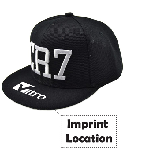 Sports Kids Hip Hop Snapback Hat Imprint Image