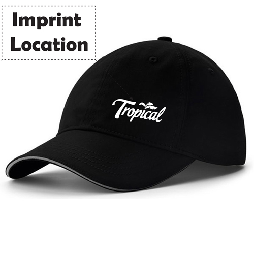 Summer Style Baseball Cap Imprint Image