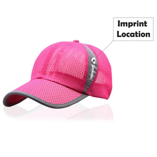 Unisex Breathable Baseball Cap Imprint Image