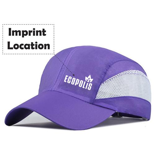 Unisex Polyester Mesh Breathable Baseball Cap Imprint Image