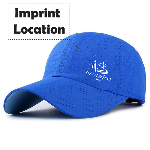 Casual Baseball Breathable Snapback Cap Imprint Image