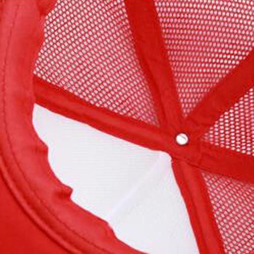 Flat Brim Snapback Trucker Cap Image 3