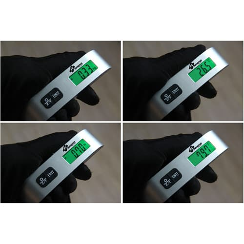 Mini LCD Digital Luggage Hanging Scale Image 3