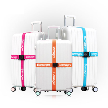 Three Layer Password Lock Luggage Strap