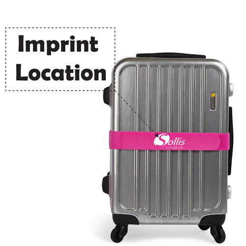 Travel Luggage Nylon Packing Belt Imprint Image