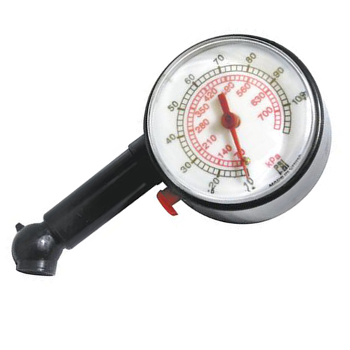 Analog Display Round Auto Tire Gauge Image 2