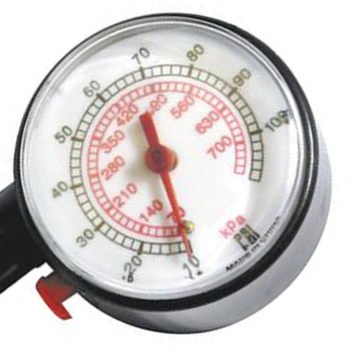 Analog Display Round Auto Tire Gauge Image 3