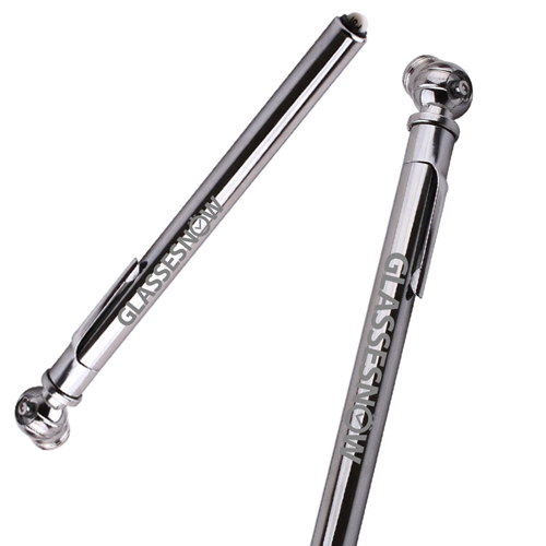 Bicycle Chrome Plated Tire Gauge Image 2