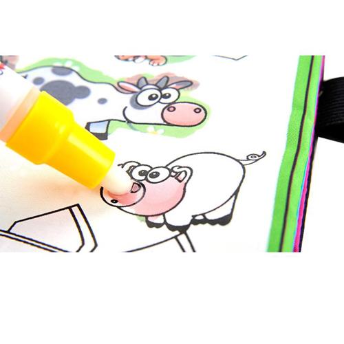Kids Magic Water Drawing Book and Magic Pen Image 1
