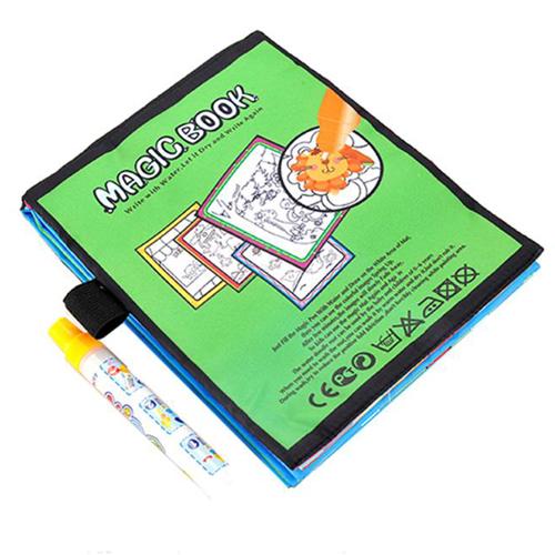 Kids Magic Water Drawing Book and Magic Pen Image 2