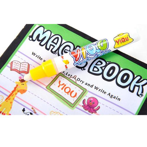Kids Magic Water Drawing Book and Magic Pen Image 3