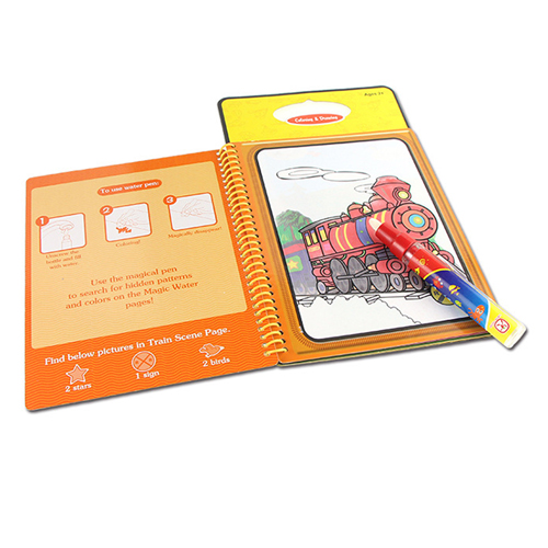 Kids Drawing Board with Magic Pen Image 1
