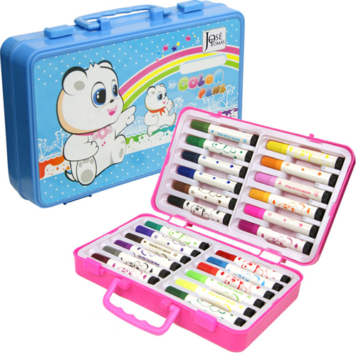 Children 24 Painting Drawing Pen in Box
