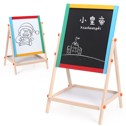 Double Sided Wooden Magnetic Drawing Board