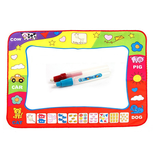 Kids Water Drawing Mat with 2 Magic Pen