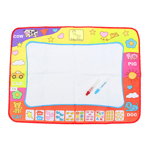Kids Water Drawing Mat with 2 Magic Pen Image 1