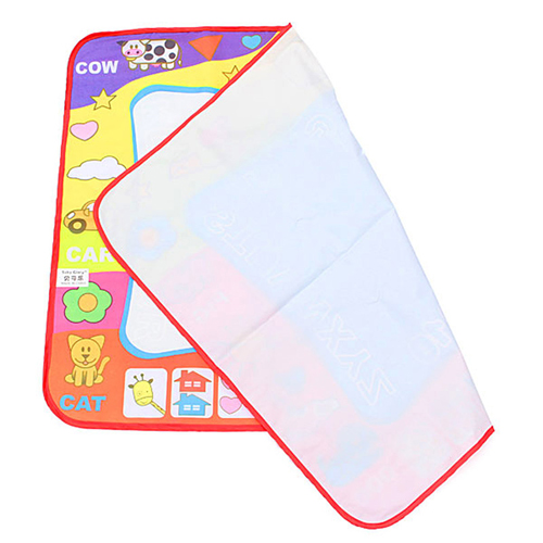 Kids Water Drawing Mat with 2 Magic Pen Image 2