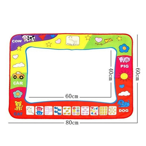 Kids Water Drawing Mat with 2 Magic Pen Imprint Image