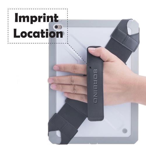 Portable Handle Strap Tablet Holder Imprint Image