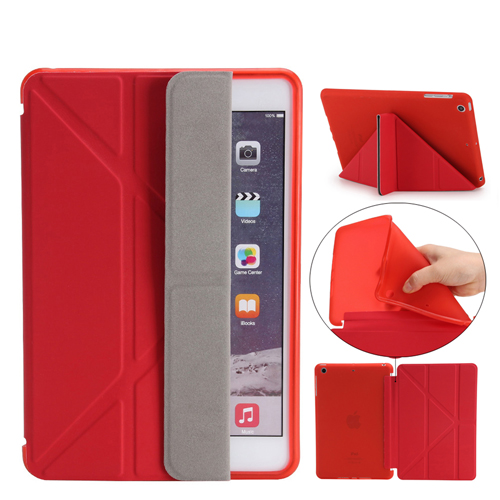 Soft Silicone Leather Smart Stand Case