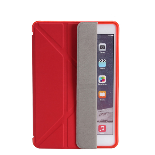 Soft Silicone Leather Smart Stand Case Image 3
