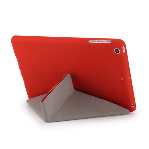 Soft Silicone Leather Smart Stand Case Image 5