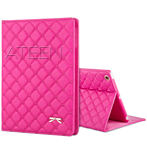 Mini iPad Bowknot Leather Smart Cover Stand Image 1