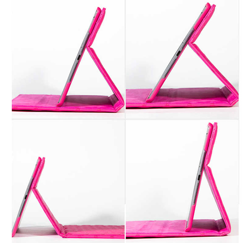 Mini iPad Bowknot Leather Smart Cover Stand Image 5